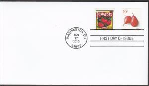 US 5039 Pears Summer Harvest Tomatoes CDS FDC 2016