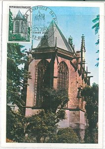 26311  - FRANCE - POSTAL HISTORY - MAXIMUM CARD 1974 - ARCHITECTURE Cathedral
