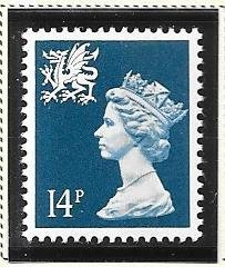 Great Britain-Wales & Monmouthshire # WMMH24 (MNH) $0.70