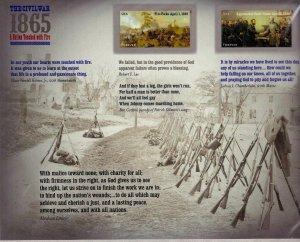 4980 - 4981 Civil War 1865 Forever Sheet of 12 Stamps MNH