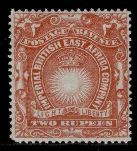 BRITISH EAST AFRICA QV SG16, 2r brick-red, M MINT. Cat £14.