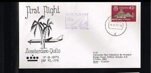 1972 - KLM vlucht Willemstad - Quito [GR034]