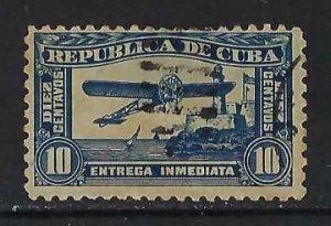 CUBA E5 VFU AIRPLANE I034