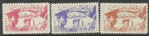 Tunisia    Scott # 312 - 314 - MH