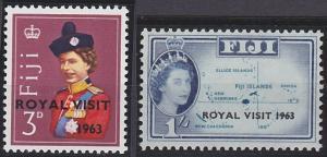 Fiji 196-197 MNH (1963)
