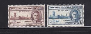 Pitcairn Islands 9-10 MHR Peace Issue
