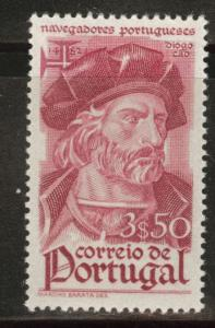 Portugal Scott 649 MH* 1945 Explorer stamp