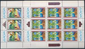 Makedonien stamp Europa CEPT minisheet set 1997 MNH Mi 102-103 WS189976