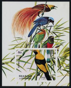 Sharjah MIBK 121 MNH Birds