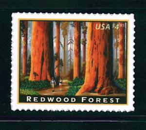 US Scott #4378 2009 $4.95 Redwood Forest / Priority Mail MNH