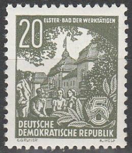 DDR #195 MNH F-VF CV $75.00 (SU4756)