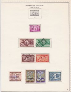 dominican republic stamps page ref 17153