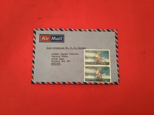 Mauritius Automotive Products Marketing Centre  Airmail  stamp cover R36213
