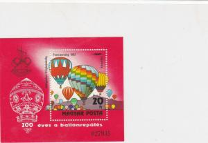 Hungary Hot Air Balloons  Mint Never Hinged Stamp Sheet ref R17720