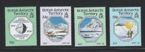 British Antarctic Territory mnh S.C.#  141 - 144