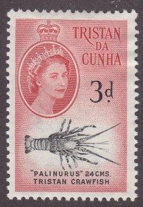 Tristan Da Cunha 33 Crawfish 1960