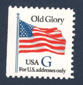 2884 Old Glory Blue G US Single Mint/nh (Free Shipping)