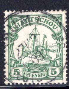 Kiautschou / Kiauchau #11, Kaumi CDS postmark CV €25