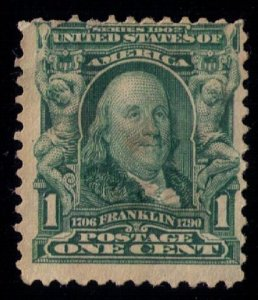US SCOTT #300 USED FINE