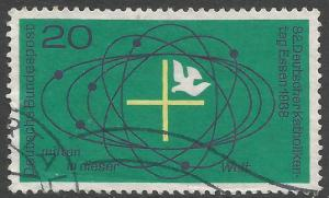 GERMANY 989 VFU H1075