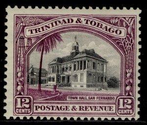 TRINIDAD & TOBAGO GV SG235a, 12c black & violet, NH MINT. Cat £21. PERF 12½