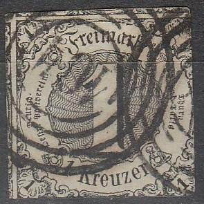 Thurn & Taxis #42 F-VF Used CV $15.00  (A16604)