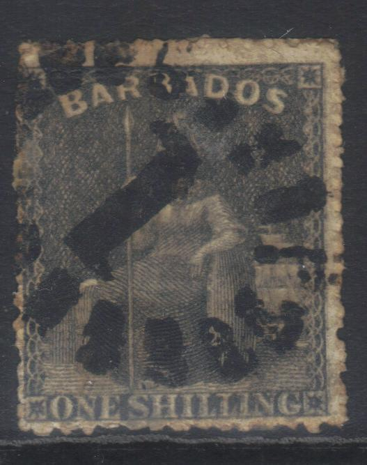 BARBADOS 1871 SG51 USED CAT £18