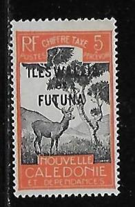 Wallis and Futuna Islands J13 Postage Dues single MLH
