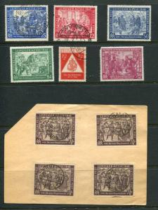 Germany 1948/9 Mostly Used Leipzig Fair 6321