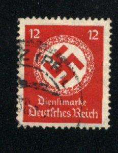 Germany O86 used VF 1934 PD