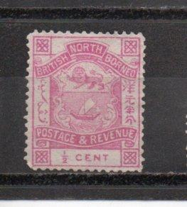 North Borneo 35 used (A)