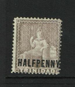 Trinidad SG# 99 Mauve Mint Hinged / Sm Hinge Rem - S6263
