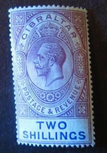 Gibraltar #72 Mint Hinged- (AZ7) WDWPhilatelic!