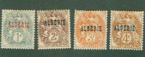 ALGERIA 1-4 MH BIN$  1.60