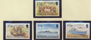 Falkland Islands Stamps Scott #634 To 637, Mint Never Hinged - Free U.S. Ship...