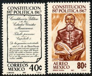 MEXICO 976, C322, 50th Anniversary of the Constitution MINT, NH. VF.