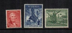 Australia  207 - 209    MNH cat $ 1.65 555