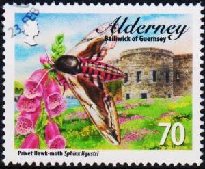 Alderney. 2011 70p fine Used