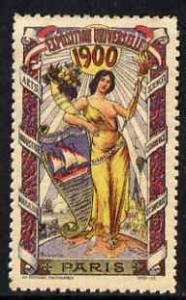 Cinderella - France 1900 International Exhibition, Paris,...