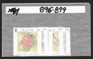 ISLE OF MAN Sc#895-899 Complete Mint Never Hinged Set