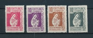 [104159] Costa Rica 1973 Postal tax children's village Christmas Madonna  MNH