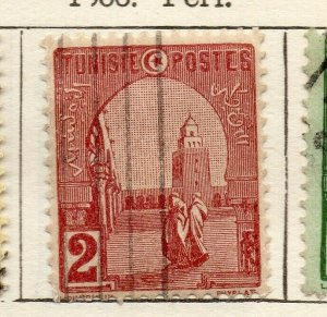 Tunis 1906 Early Issue Fine Used 2c. NW-114591