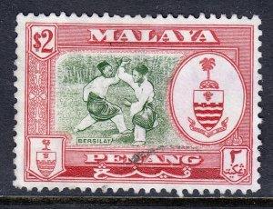 Malaya (Penang) - Scott #65 - Used - SCV $7.25