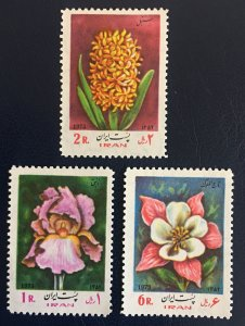 Worldwide,middle east, 1973 MNH ** Flowers