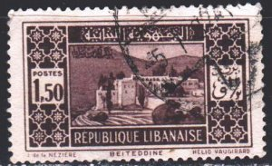 Lebanon. 1930. 172 from the series. Byte Ed Dean Palace. USED.