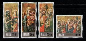 MALTA 1976 MNH SC.B23/B24 Christmas