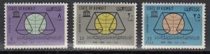 Kuwait - 1963 Declaration of Human Rights Sc# 222/224 - MNH (496N)