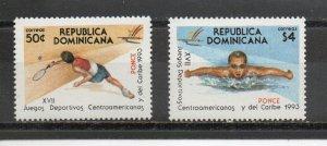 Dominican Republic 1140-1141 MNH