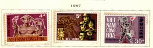 South Vietnam Scott 317-319 MNH** stamp set
