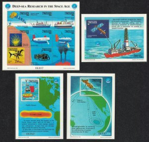 Micronesia International Year of the Ocean Deep Sea Research 9v+3 MSs